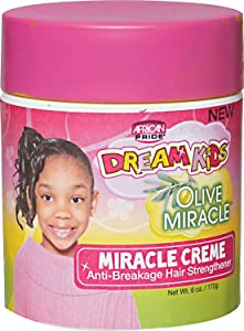 African Pride Dream Kids Olive Miracle Miracle Creme 6 Ounce (177ml) (476073)