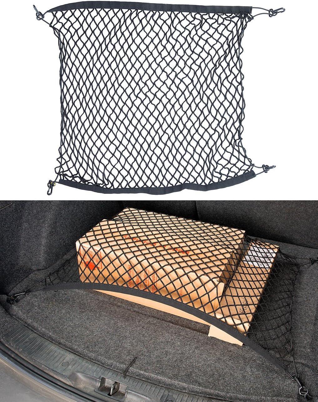 Kofferraum Gep/äcknetz Urben Life Universal Auto Netz Decke F/ür Auto Van SUV Usw Gr/ö/ße: 90 65 cm // 35,43 25,59 Zoll Kofferraumnetz Schutznetz Mit Rei/ßverschluss