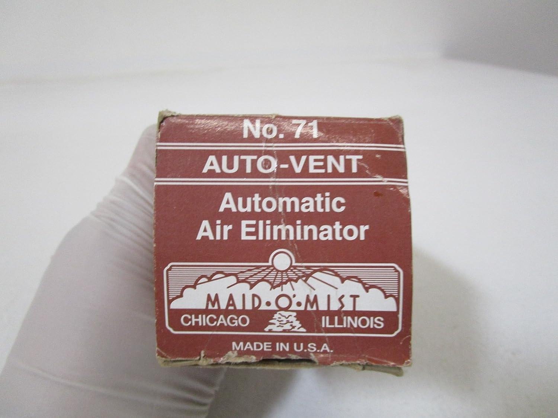 Maid-O-Mist 71 Auto-Vent No, 4.8' x 2.3' x 2.3' 4.8 x 2.3 x 2.3