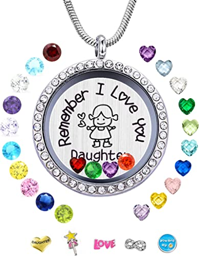 Mom birthstones mother gift living memory keychain US fast shipping