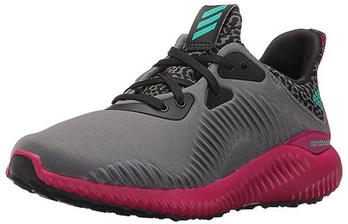 best website 06180 e6820 Adidas Performance Kids Alphabounce j Running Shoe AshBlackPink Buzz New