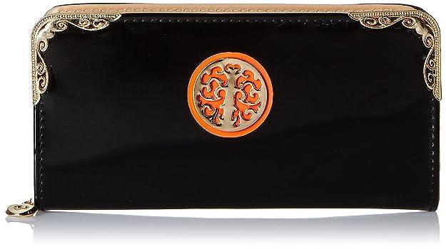 Alessia74 Women's Wallet (Black) (PBG500A) Women's Wallets at amazon