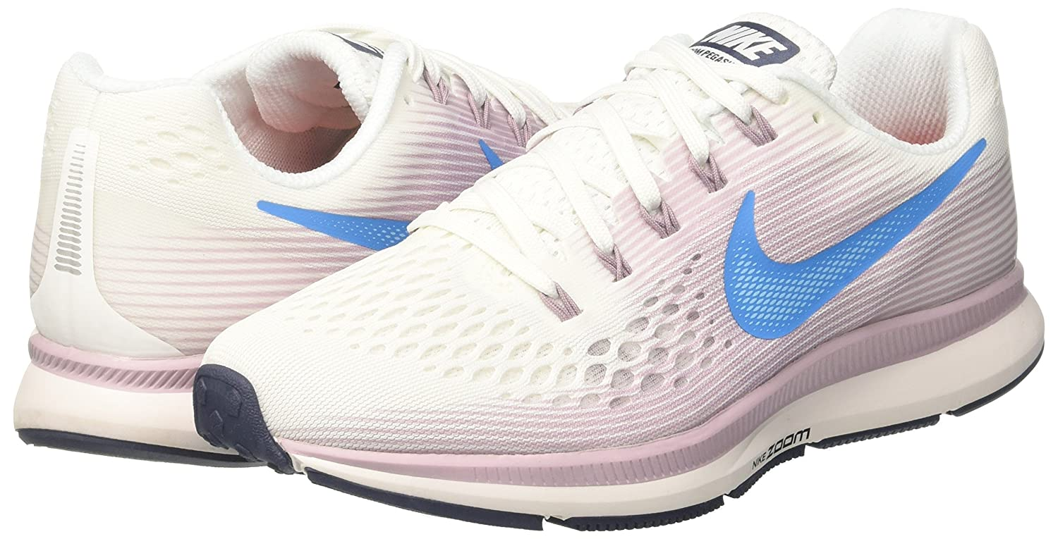 NIKE 34 Women's Air Zoom Pegasus 34 NIKE Running Shoe B076KT67MH 9.5 M US|Summit White/Elemental Rose/Thunder Blue/Equator Blue 89df7a