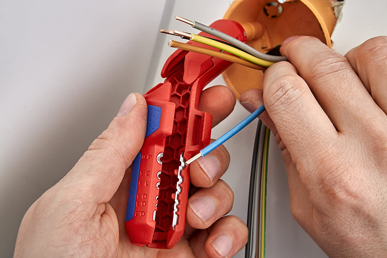 Knipex Tools 16 95 01 SB ErgoStrip Universal Dismanting Tool
