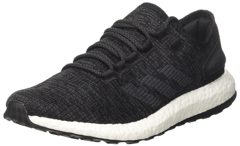 adidas Pureboost, Zapatillas de Running Para Hombre 43 1/3 EU|Negro (Core Black/Dgh Solid Grey/Core Black)