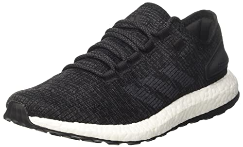 adidas Pureboost Mens Running Trainers Sneakers (UK 6.5 US 7 EU 40, Black White