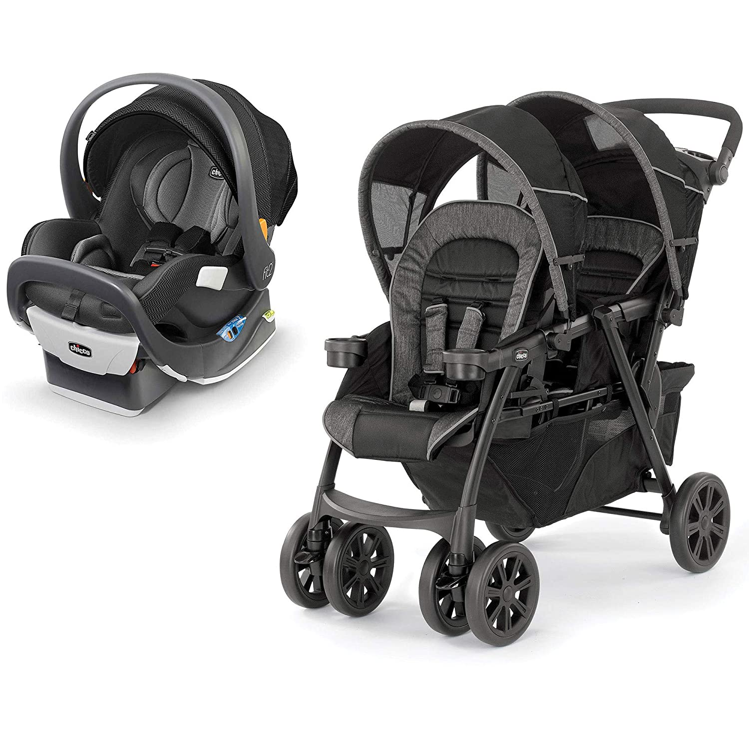 Chicco Fit2 Infant & Toddler Car Seat, Tempo w/ Double