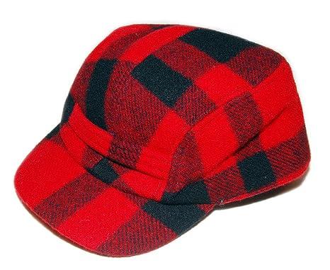 Polo Ralph Lauren Mens Vintage Hunting Buffalo Plaid Wool Hat Cap ... 30e0278e8
