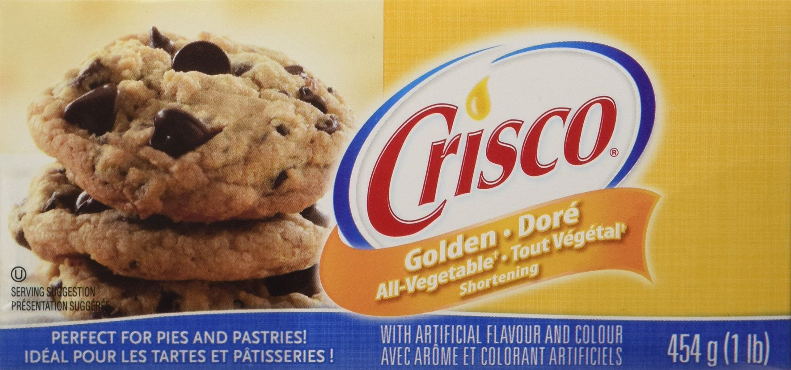 Crisco Golden All-Vegetable Shortening 454 Grams