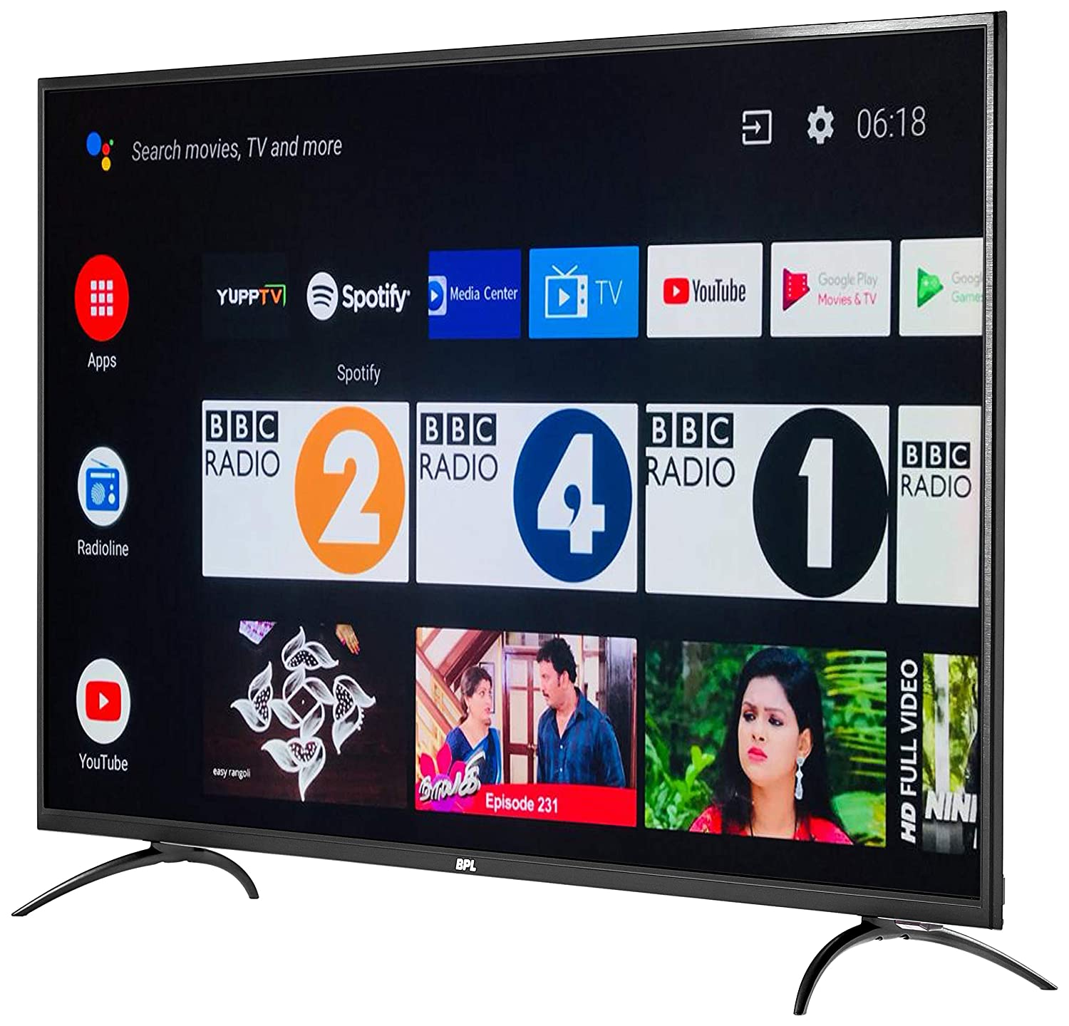 4K Ultra HD BPL (49 inches) Official Android LED Smart TV T49AU26A