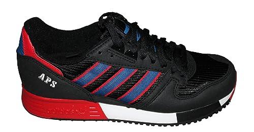 Adidas Originals Herren Jeans Turnschuhe Sneakers Schuhe Weiß Grau Retro Neu mit Etikett