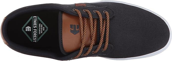 Etnies Jameson Vulc Chaussures Pour Homme Chaussure-Bleu marine//argent toutes tailles