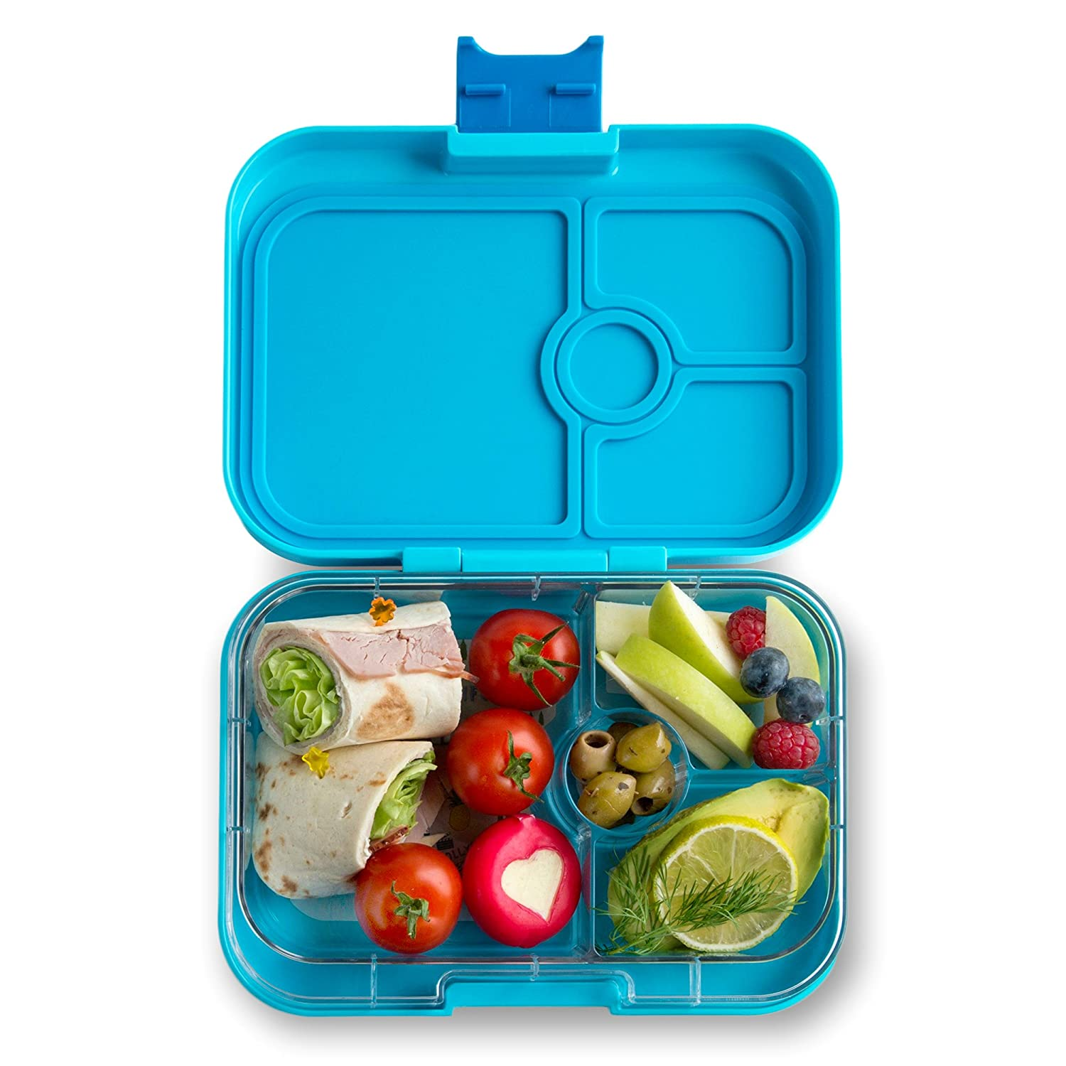 4f93d3cb97cf YUMBOX Panino Leakproof Bento Lunch Box Container for Kids & Adults (Blue  Fish)