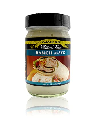 Walden Farms Ranch Mayo - Sugar Free, Calorie Free, Fat Free, Carb Free