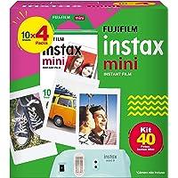 Filme Instax Mini Com 40 Fotos, Fujifilm