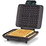 DASH No-Drip Belgian Waffle Maker: Waffle Iron 1200W + Waffle Maker Machine for Waffles, Hash Browns, or Any Breakfast, Lunch