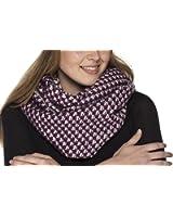 i-Smalls Women's Donna Crochet Knit Warm Winter Snood Scarf