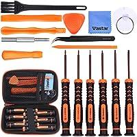 Vastar 17Pcs Triwing Screwdriver Set for Nintendo - Full Professional Screwdriver Bit Repair Tool Kit with S2 Steel for…