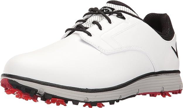 Callaway Men's LaJolla Golf Shoe, White, 8 D US