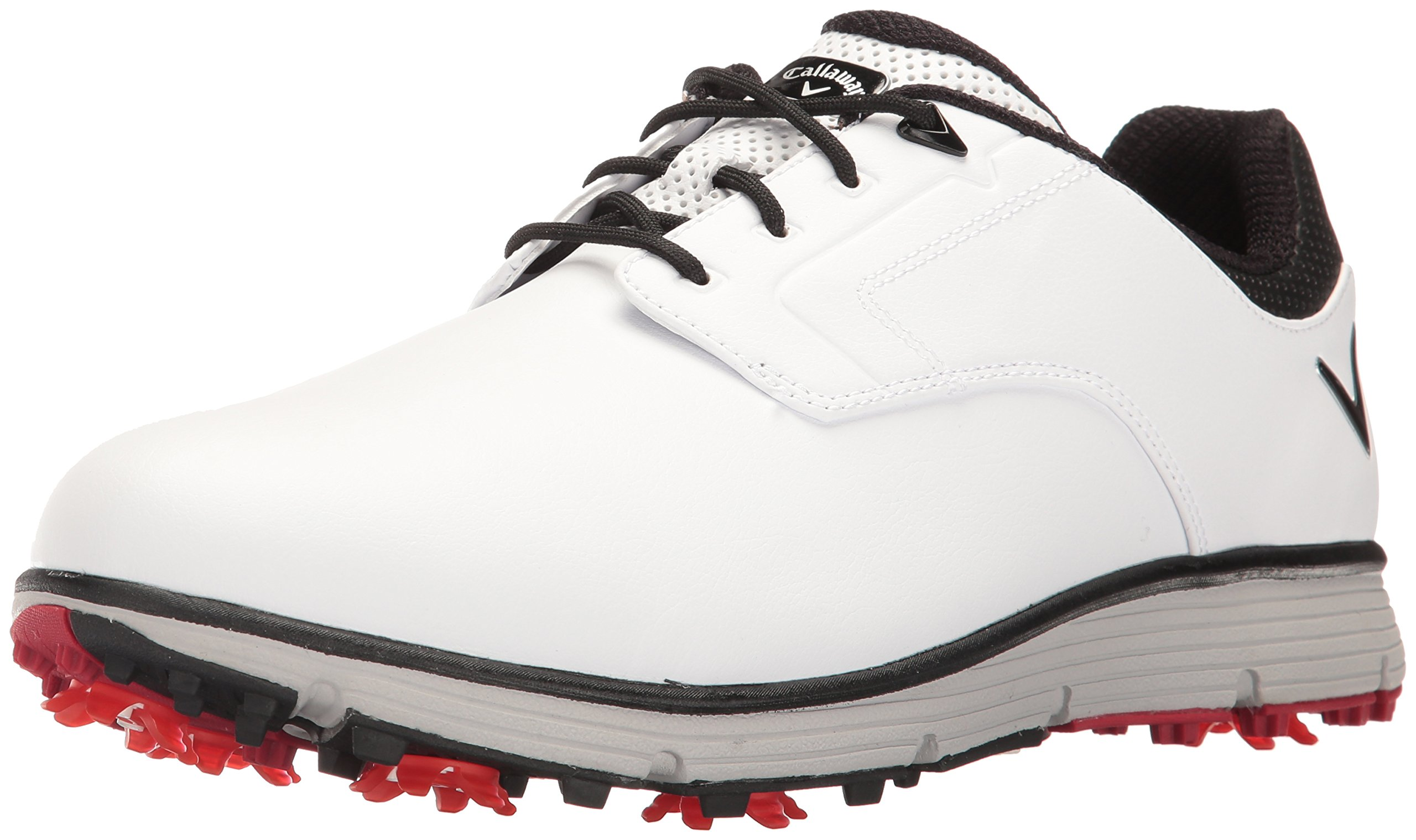 Callaway Men's La Jolla Golf Shoe, White, 14 D US