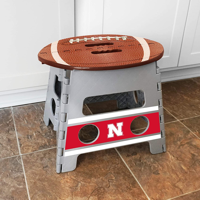 FANMATS NCAA Nebraska Cornhuskers Folding Step Stool