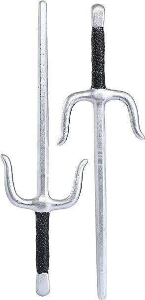 Amazon.com: Fun Costumes Pair of Sai Weapons Standard: Toys ...