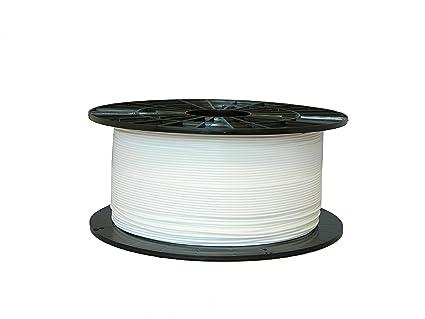 Filamento de PETG Blanco 1,75mm 1kg de Filament-PM: Amazon.es ...