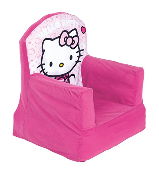Worlds Apart 280HEK01 - Silla Hinchable para niños con diseño Hello Kitty