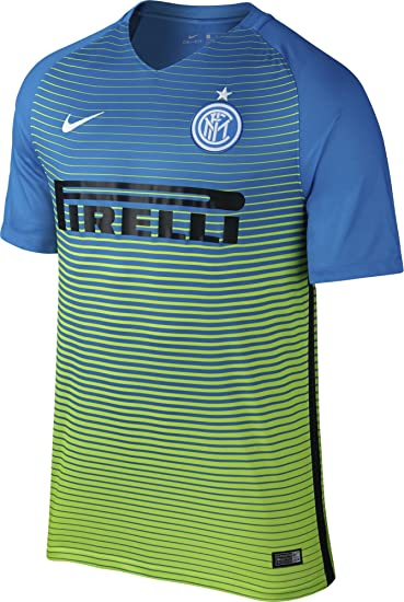 new product 405e1 5b34c Nike 2016-2017 Inter Milan Third Football Soccer T-Shirt Jersey