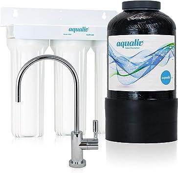 aqualiv agua sistema A305 – Ionizador de agua alcalina PH, máquina, estructurado agua, filtro de agua, purificador de agua: Amazon.es: Bricolaje y herramientas