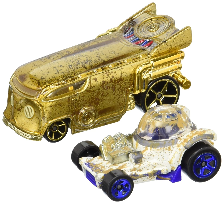 Hot Wheels – Star Wars – R2-D2 & C3P0 – Fahrzeugsammlung Mattel DTB00