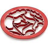 Lékué 0200150R01M017 Cutter pour Biscuits Puzzle Animaux Plastique  Multicolore 45 x 35 x 25 cm
