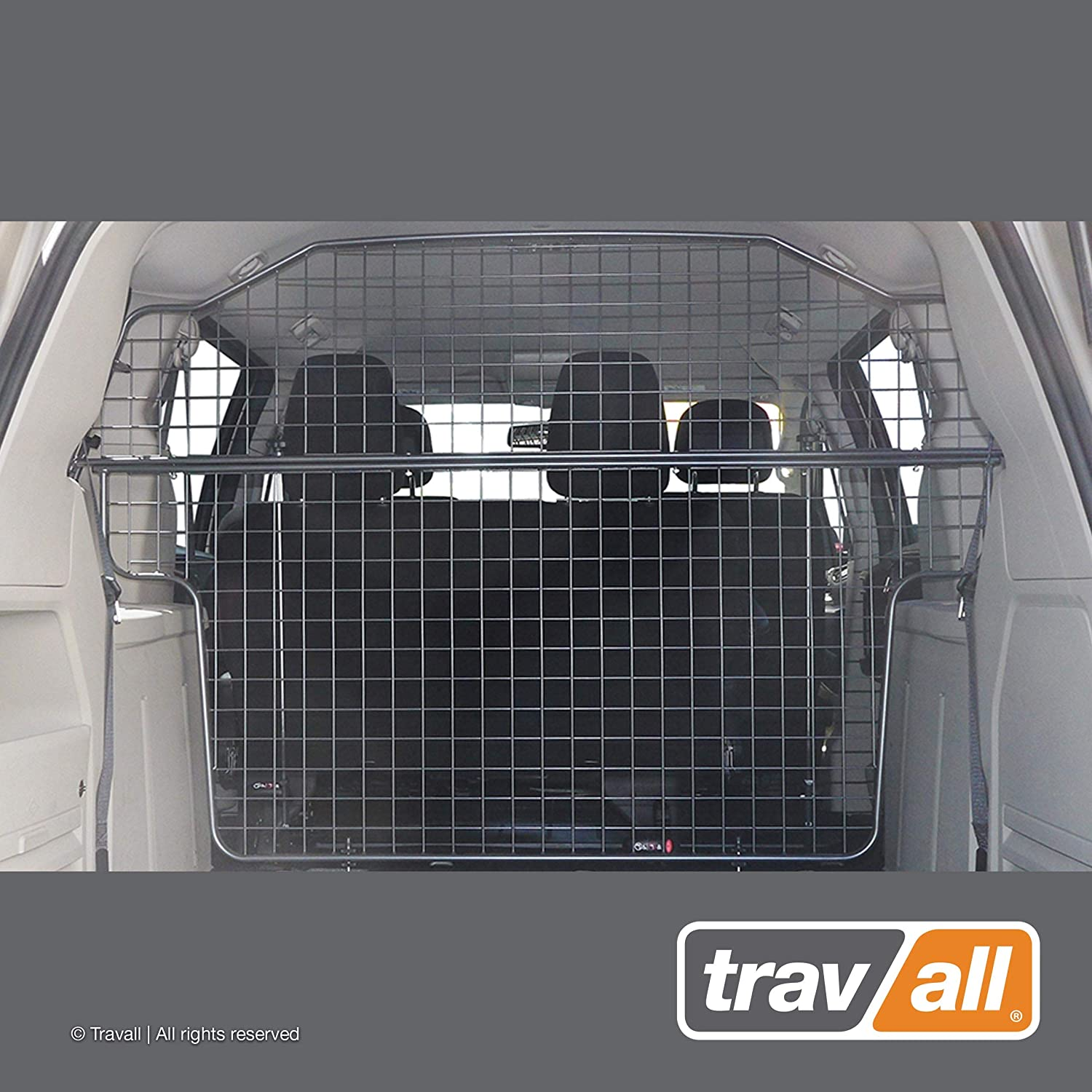 Travall Guard Compatible with Dodge Grand Caravan Without Overhead Console 2007-Current TDG1435 – Rattle-Free Steel Pet Barrier