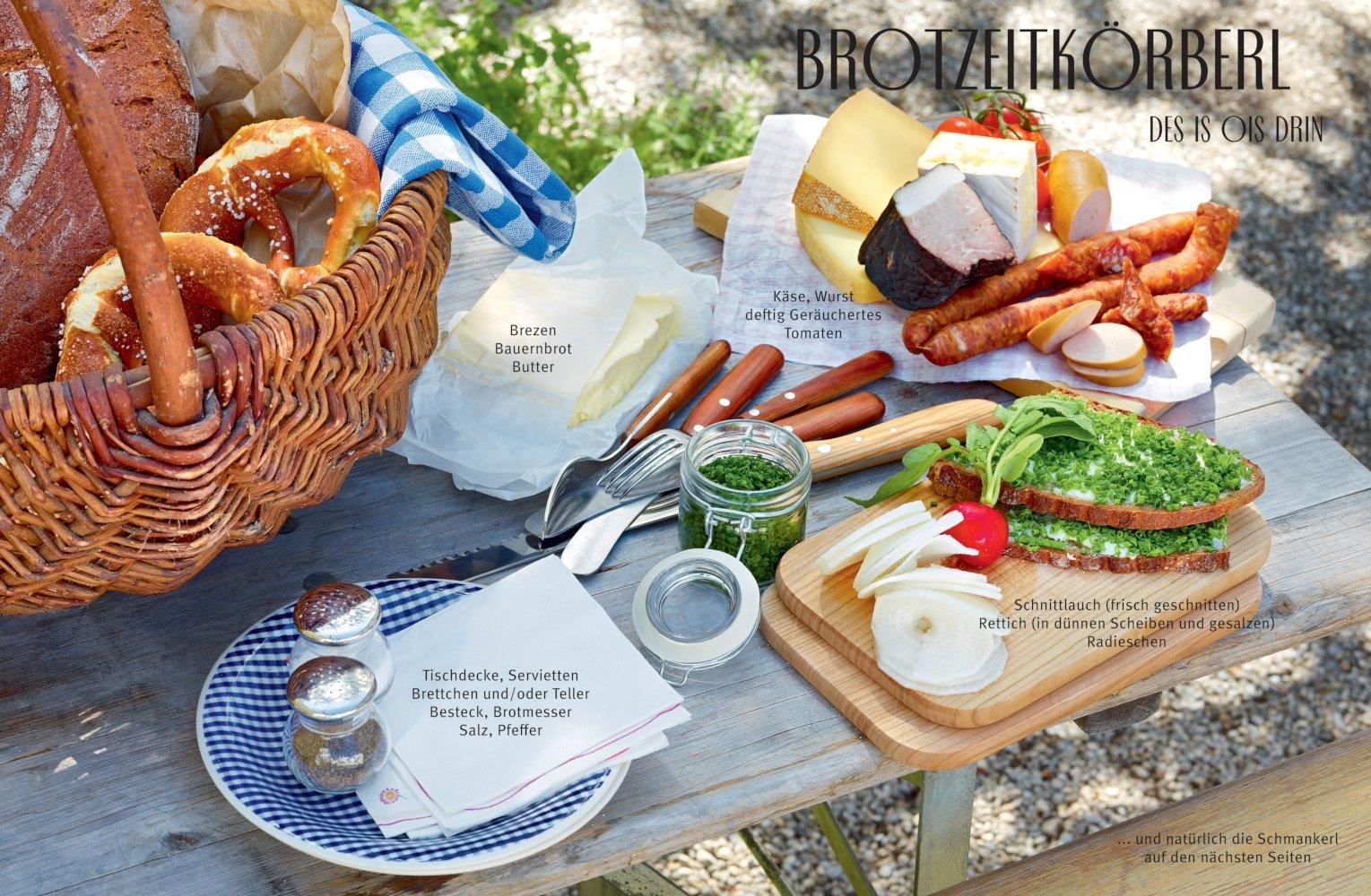 Bayerische Sommerküche : Servus bayern: so schmeckts dahoam gu themenkochbuch: amazon.de
