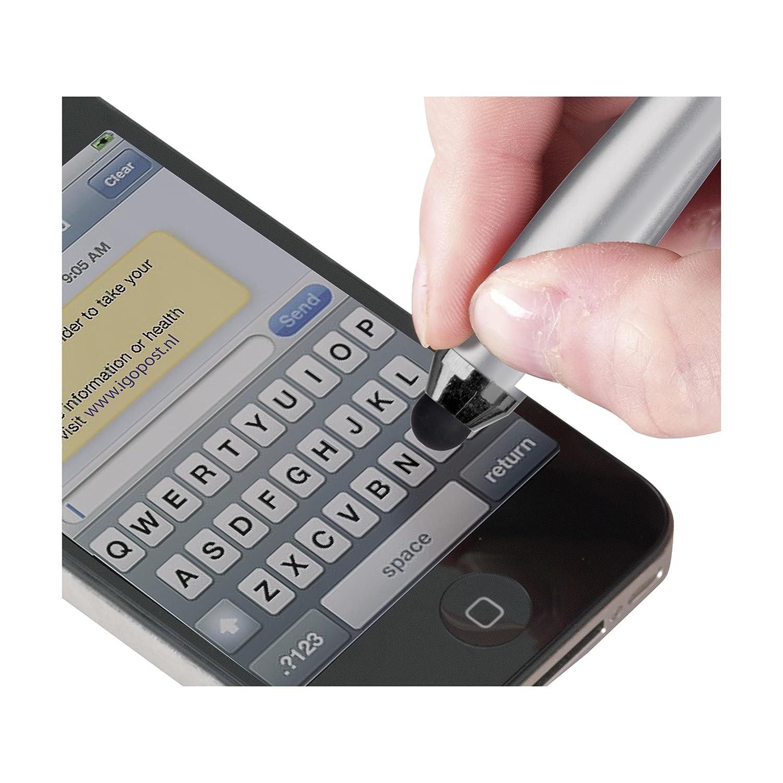 Ebuygb 13271/A5/conferenza cartellina con supporto per tablet//taccuino e penna/ /nero