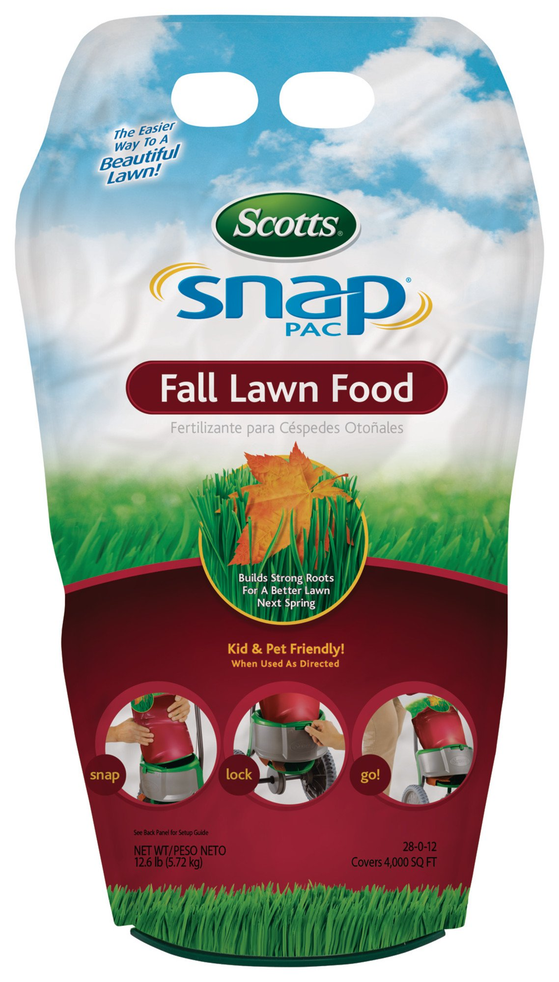 Scotts Company 21281 Snap Pac Fall Lawn Food by Scotts