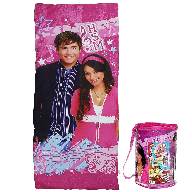Disney High School Musical HSM saco de dormir - juego de fundas de almohada y confort Pal: Amazon.es: Hogar