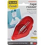 Scotch Tape Runner, Red Dispenser .31 in x 16.3 yd (055-CFT)