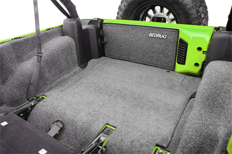 INCLUDES TAILGATE /& TUB LINER BedRug Jeep Kit BedRug BRJK11R4 fits 11 JK UNLIMITED 4DR REAR 5PC CARGO KIT