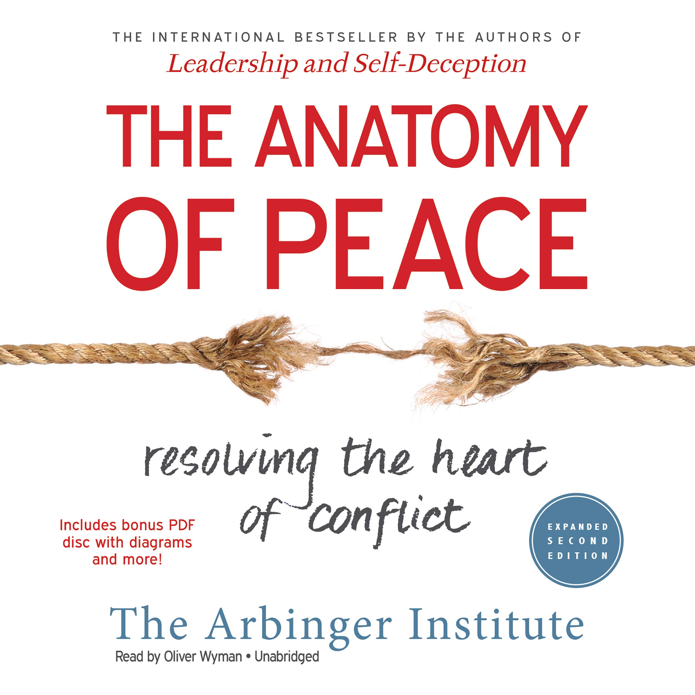 The Anatomy of Peace, Expanded Second Edition: Resolving the Heart of  Conflict: Amazon.co.uk: Arbinger Institute: 9781504677134: Books