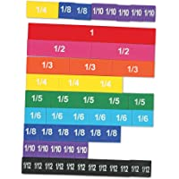 Learning Resources Magnetic Rainbow Fraction Tiles