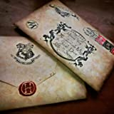 Carta de aceptación a Hogwarts personalizada Harry Potter