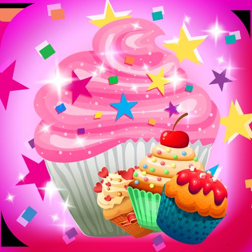 Cupcake Stickers -