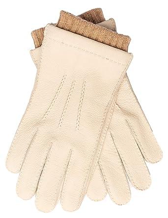 sports shoes 10082 26572 EEM Uomo guanti in pelle EDGAR pelle di daino, fodera maglieria 50%  cachemire e 50% lana