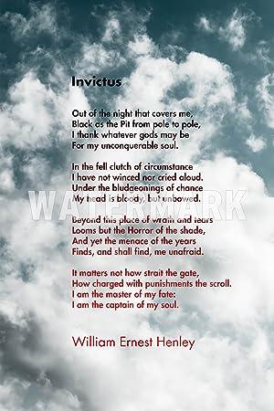 Invictus Motivational Poème By William Ernest Henley 3