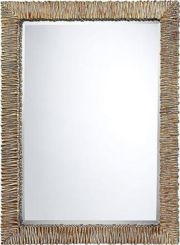 Sterling DM2024 Gascoine Polyurethane Mirror, 32-Inch, Kostin Bronze