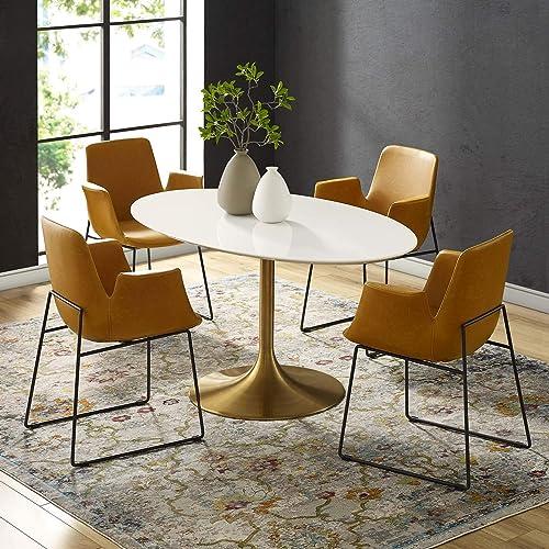 Modway Lippa 60 Mid-Century Modern Dining Table