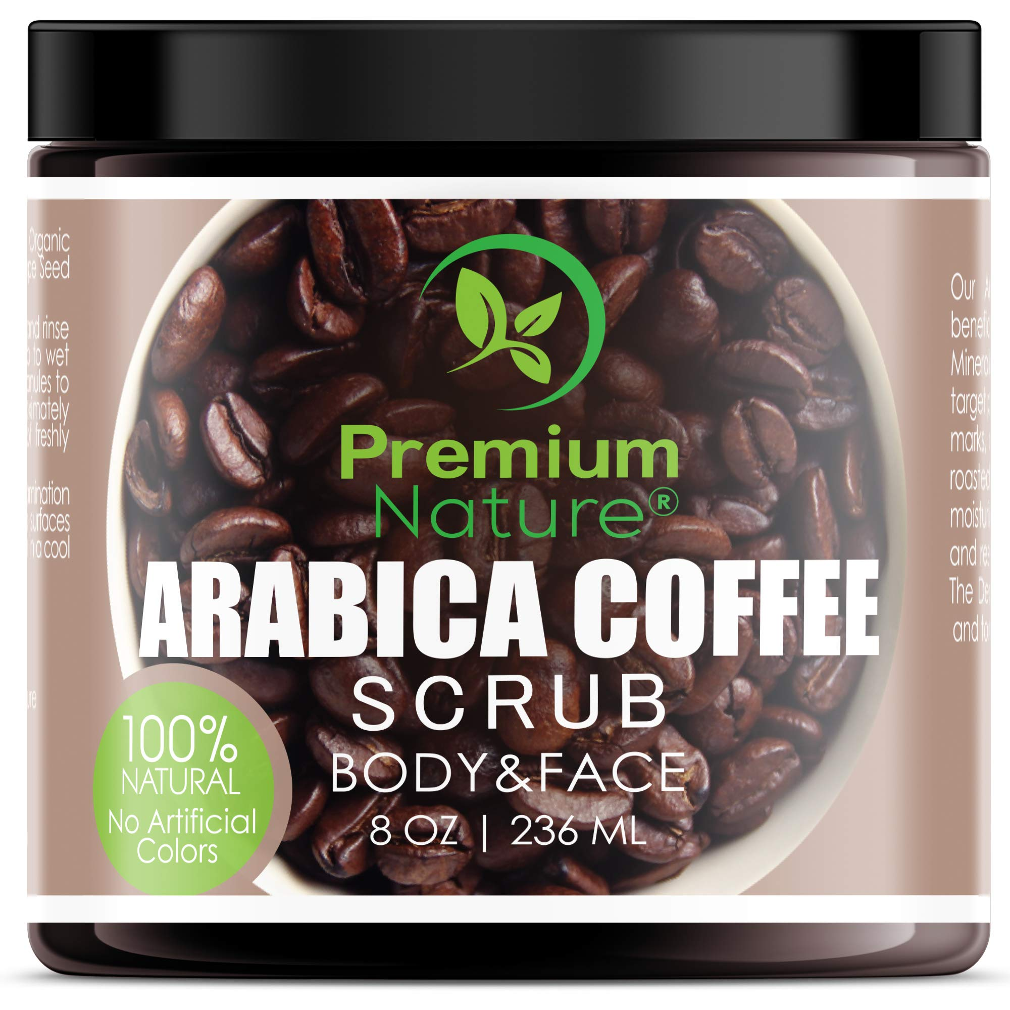 Exfoliating Arabica Coffee Body Scrub Best Skin Exfoliator Face
