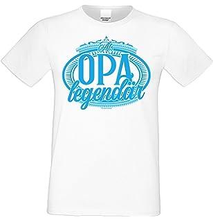 Vatertagsgeschenk Vatertag T Shirt Hier Regiert Opa Sprüche Shirt
