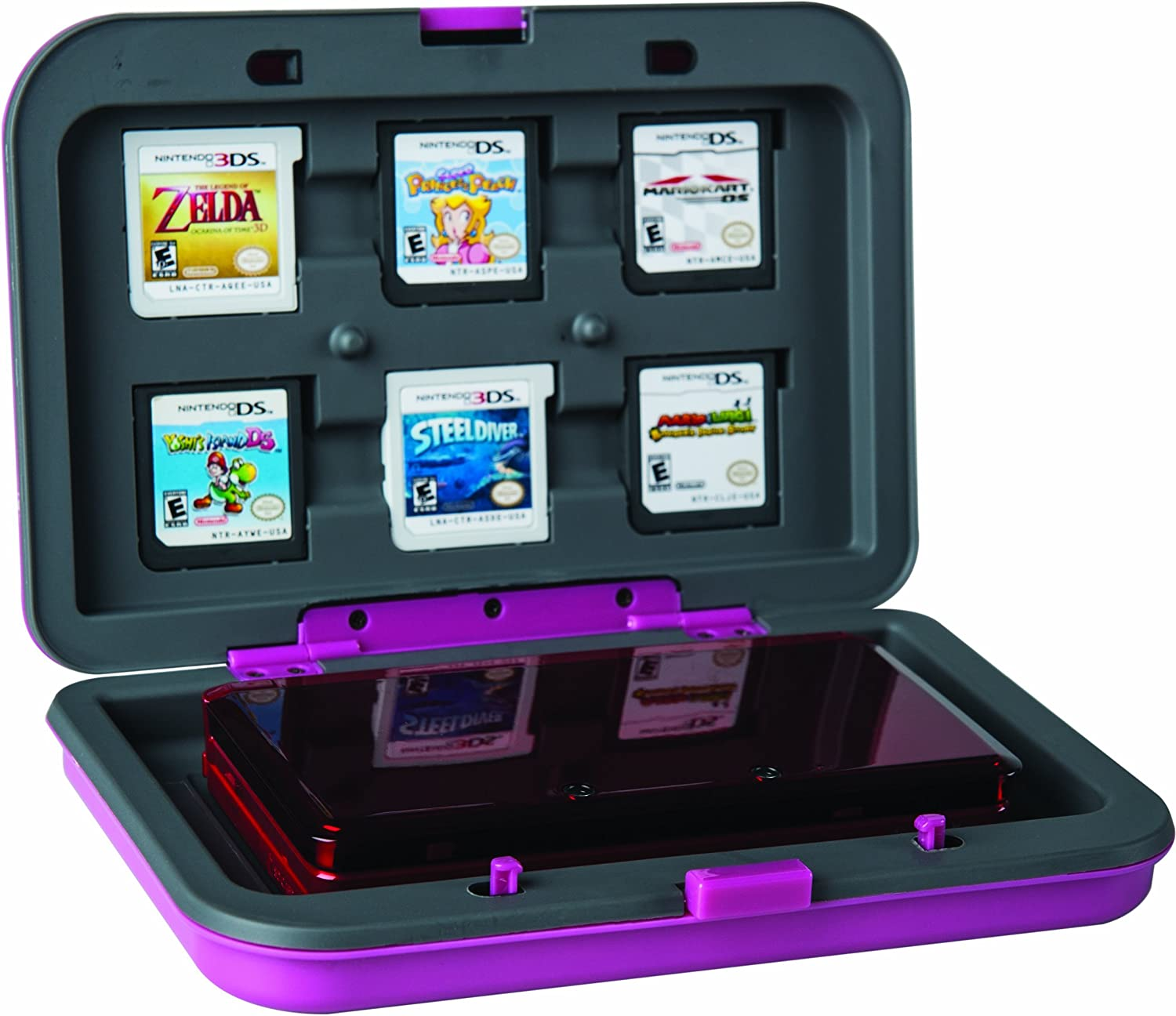 Amazon.com: Official Nintendo Universal Hard Case for DS ...